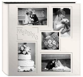 Scrapbook Pioneer Photo Albums Embossed Collage Frame 5 Up Photo Wedding Album