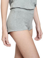C&C California Heathered Modal Boyshorts