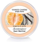Yankee Candle simply home Tangerine & Vanilla Scenterpiece Wax Melt Cup