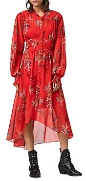 AllSaints Leonie Melisma Floral Print Dress