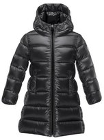Moncler Suyen Hooded Down Puffer Coat, Black, Size 8-14
