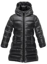 Moncler Suyen Hooded Down Puffer Coat, Black, Size 8-14