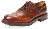 Antonio Maurizi Leather & Suede Wingtip Oxford