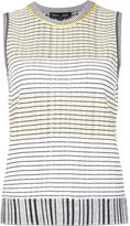 Proenza Schouler striped tank top - women - Silk/Cotton/Polyester/Viscose - XS