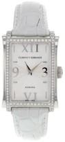Cuervo y Sobrinos Habana Prominente A1010.1AGQ-S2 Original Diamonds Unisex Watch