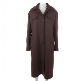 Marni Brown Wool Coat for Women