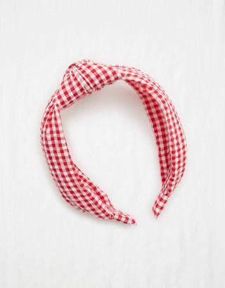 aerie Seersucker Headband