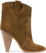 Etoile Isabel Marant Roxann suede ankle boots