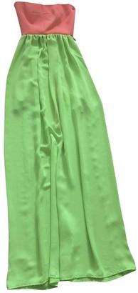 Aq/Aq Aqaq Multicolour Cotton Dress for Women