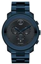 Movado Men's 'Bold' Chronograph Bracelet Watch, 44Mm
