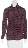 Kiton Long Sleeve Button-Up Top