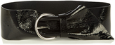 Isabel Marant Yanis patent-leather belt