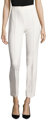 Escada Tuska High-Waist Cropped Trousers