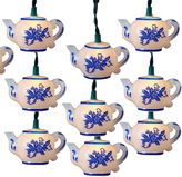 Kurt Adler 10-Light Teapot Light Set