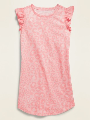 Old Navy Sleeveless Ruffle-Trim Jersey Nightgown for Girls
