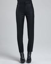 J Brand Ready to Wear Jennie Cropped Crepe Pants