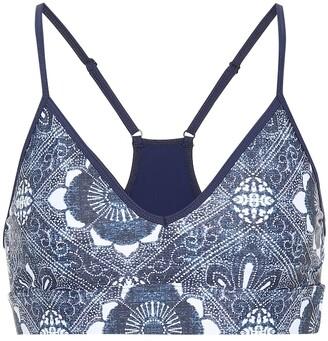 The Upside Andie printed sports bra
