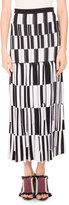 Proenza Schouler Knit Skirt-Pleated Jacquard