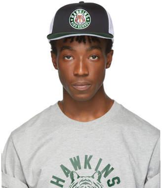 Nike Black Stranger Things Edition Hawkins High NRG Pro Cap