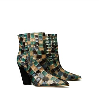 Tory Burch LILA PAINTED ANKLE BOOTIE