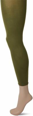 Falke Women's Cotton Touch Leggings - Cotton Rich Grey (Anthramix 3499) S-M (UK 12-14 EU 38-40) 1 Pair