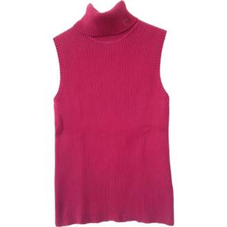 Lauren Ralph Lauren \N Red Cotton Knitwear for Women