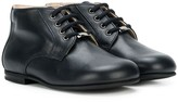 Christian Dior lace up ankle boots