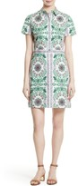 Tory Burch Women's Port Print Poplin Shirtdress