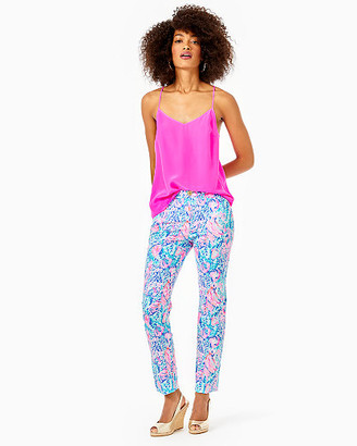 """Lilly Pulitzer 29"""" Kelly Skinny Ankle Stretch Pant"""