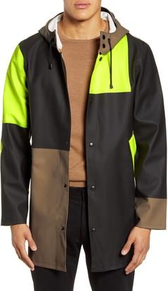 Stutterheim Patchwork Waterproof Hooded Raincoat