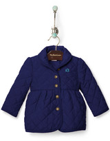 Personalization Baby Girl Barn Jacket