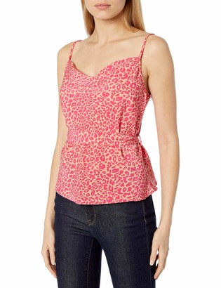 J.o.a. Women's Sleeveless Tank Top with Tie