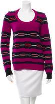 Proenza Schouler Wool Intarsia Sweater
