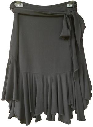 Paul & Joe Black Silk Skirt for Women