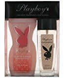 Playboy Play It Lovely By Shower Gel 8.4 Oz & Body Fragrance Spray 2.5 Oz