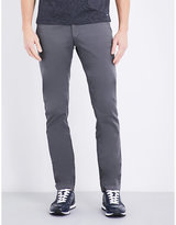 Hugo Boss Tapered Stretch-cotton Chinos