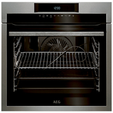 AEG BPE742320M Built-In Single SenseCook Electric Oven, Stainless Steel