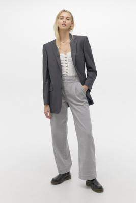 Gestuz Elaine Corduroy Trousers - grey 38 at Urban Outfitters