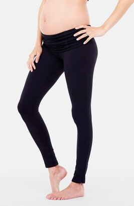Ingrid & Isabel Active Maternity Leggings with Crossover Panel