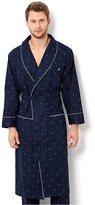 Nautica Men's Signature Woven Shawl Collar Robe
