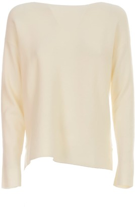 Liviana Conti Viscose Sweater L/s Boat Neck