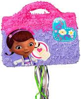 BuySeasons Disney Junior Doc McStuffins Doctor Bag 3D Pull-String Pinata