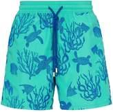 Vilebrequin Moorea coral print swim shorts