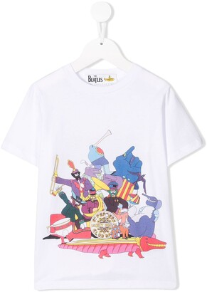 Stella McCartney All Together Now Yellow Submarine T-shirt