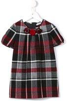Dolce & Gabbana tartan dress - kids - Cotton/Spandex/Elastane/Viscose/Metallic Fibre - 8 yrs