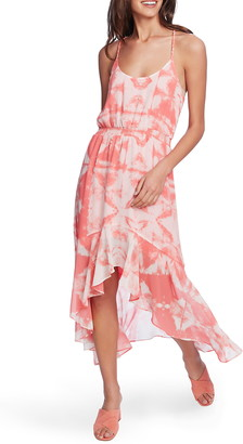 1 STATE Tie Dye High/Low Dress