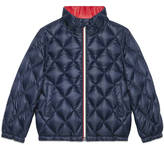 Gucci Children's quilted nylon jacket