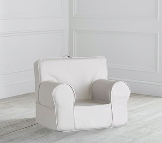 Pottery Barn Kids My First Gray Twill Anywhere Chair