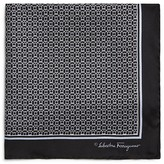 Salvatore Ferragamo Rope Gancini Pocket Square
