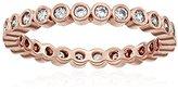 Gorjana Candice Rose Gold Shimmer Ring, Size 6